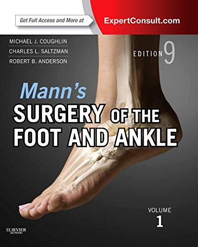 9780323072427: Mann's Surgery of the Foot and Ankle, 2-Volume Set: Expert Consult: Online and Print, 9e (Coughlin, Surgery of the Foot and Ankle 2v Set)