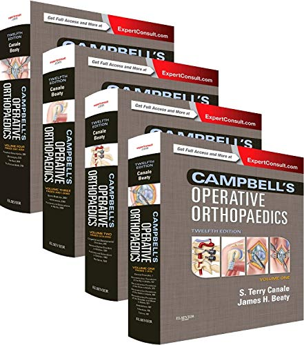 9780323072434: Campbell's Operative Orthopaedics: 4-Volume Set, 12e