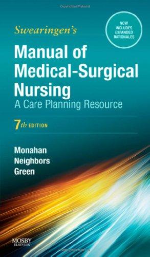 9780323072540: Manual of Medical-Surgical Nursing: A Care Planning Resource, 7e (Swearingen, Manual of Medical-Surgical Nursing Care)