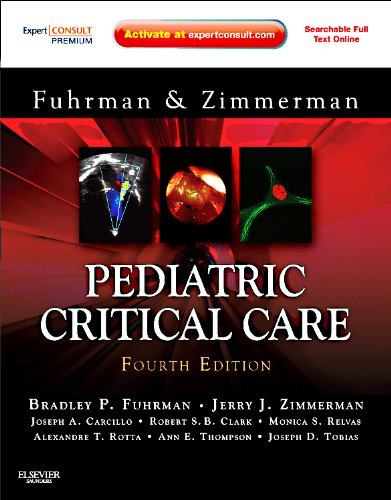 9780323073073: Pediatric Critical Care: Expert Consult Premium Edition - Enhanced Online Features and Print, 4e