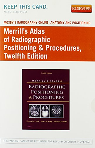 Mosby's Radiography Online: Anatomy and Positioning for: Frank MA RT(R)