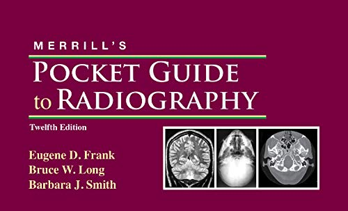 9780323073325: Merrill's Pocket Guide to Radiography