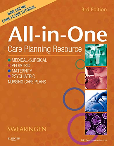9780323074209: All-In-One Care Planning Resource, 3e (All-In-One Care Planning Resource: Medical-Surgical, Pediatric, Matermaternity, & Psychiatric Nursin)