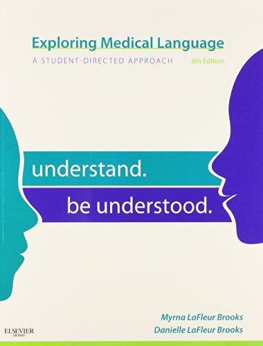 9780323077118: Exploring Medical Language 8th Ed. With Medical Terminology Online for Exploring Medical Language (User Guide, Access Code and Textbook Package)