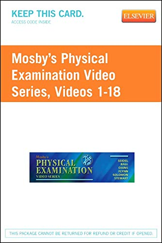 Mosby's Physical Examination Video Series (User Guide: Seidel MD, Henry