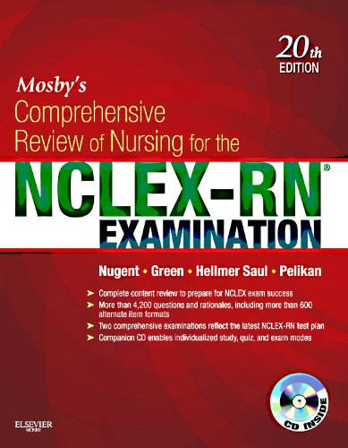 9780323078955: Mosby's Comprehensive Review of Nursing for the NCLEX-RN� Examination, 20e