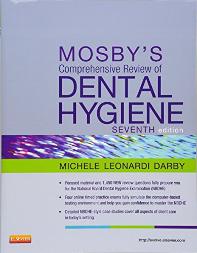 9780323079631: Mosby's Comprehensive Review of Dental Hygiene, 7e