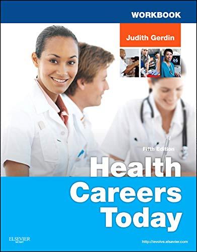 Workbook for Health Careers Today: Judith Gerdin