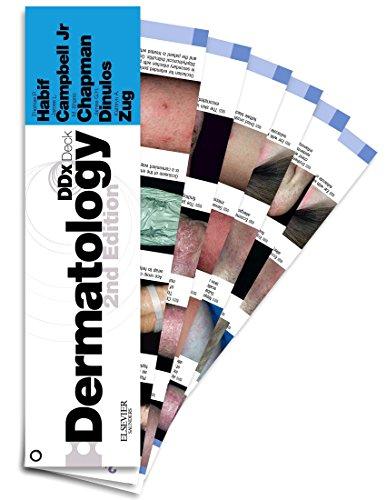 9780323080798: Dermatology DDX Deck, 2e