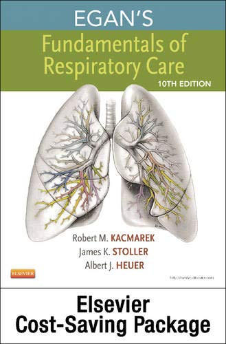 9780323081924: Egan's Fundamentals of Respiratory Care - Textbook and Workbook Package, 10e