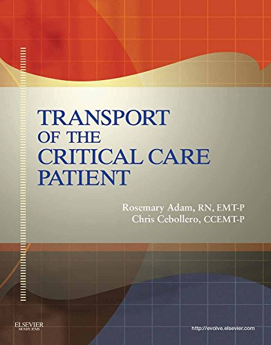 9780323082723: Transport of the Critical Care Patient