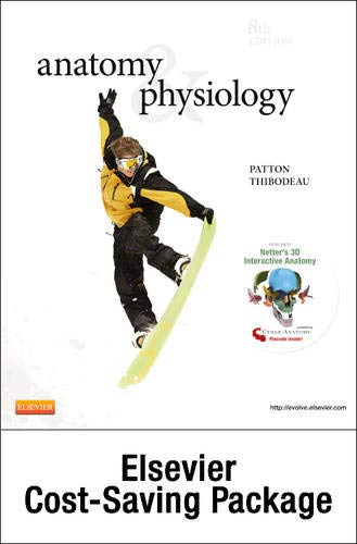 9780323083546: Anatomy & Physiology - Text and Laboratory Manual Package, 8e