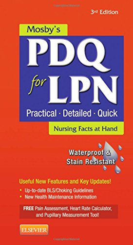 9780323084475: Mosby's PDQ for LPN, 3e