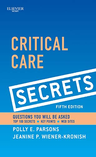 9780323085007: Critical Care Secrets, 5e