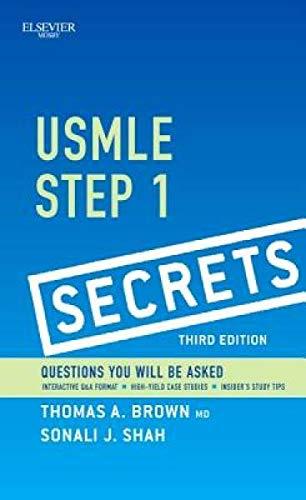 9780323085144: USMLE Step 1 Secrets, 3e