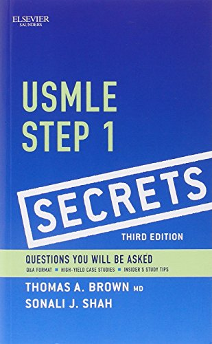 9780323085144: USMLE Step 1 Secrets, 3e