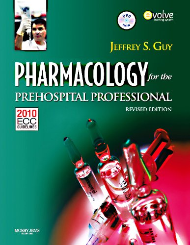 9780323085199: Pharmacology For The Prehospital Professional
