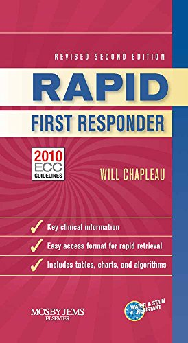 9780323085205: RAPID First Responder, Revised Second Edition