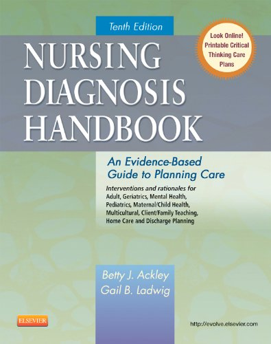 9780323085496: Nursing Diagnosis Handbook: An Evidence-Based Guide to Planning Care, 10e