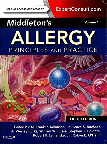 9780323085939: Middleton's Allergy: Principles and Practice, Vol. 1