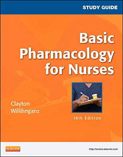9780323087001: Basic Pharmacology for Nurses: Study Guide, 16th Edition (.NET Developers Series)