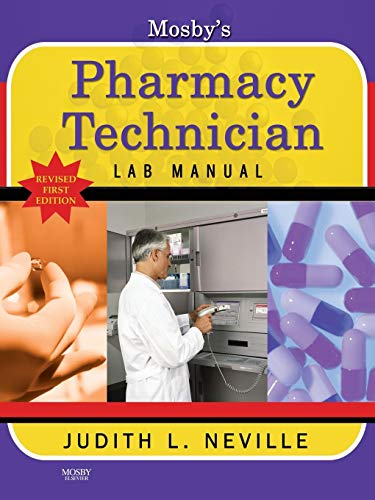9780323088121: Mosby's Pharmacy Technician Lab Manual