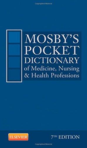 9780323088558: Mosby's Pocket Dictionary of Medicine, Nursing & Health Professions, 7e
