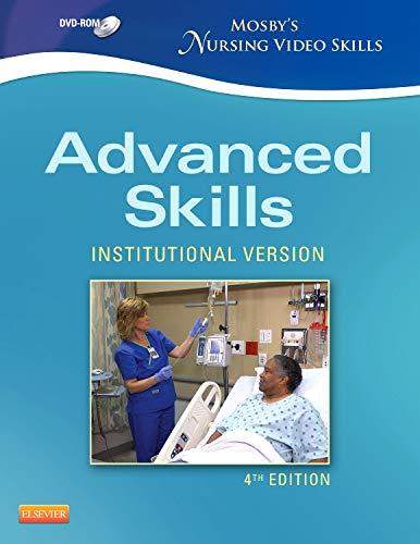 9780323088640: Mosby's Nursing Video Skills - Advanced Skills DVD, 4e