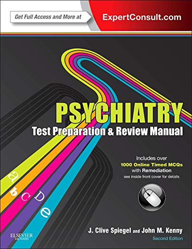 9780323088695: Psychiatry Test Preparation and Review Manual: Expert Consult - Online and Print, 2e