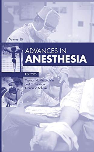 9780323088701: 30: Advances in Anesthesia, 1e