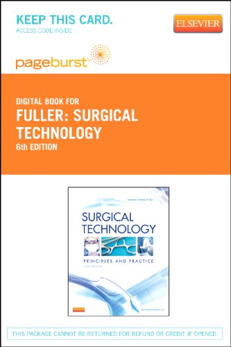 9780323089906: Surgical Technology - Elsevier eBook on VitalSource (Retail Access Card): Principles and Practice, 6e