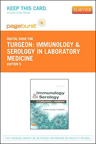 9780323089968: Immunology & Serology in Laboratory Medicine - Elsevier eBook on VitalSource (Retail Access Card), 5e