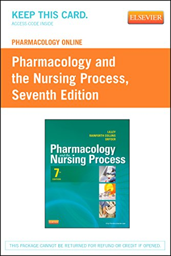 9780323091671: Pharmacology Online for Pharmacology and the Nursing Process (Retail Access Card), 7e