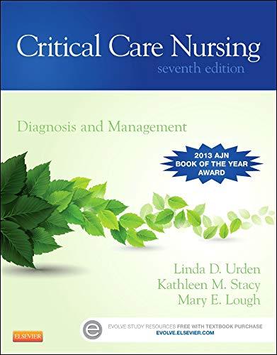 9780323091787: Critical Care Nursing: Diagnosis and Management, 7e