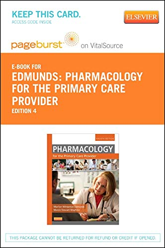 9780323091985: Pharmacology for the Primary Care Provider - Elsevier eBook on VitalSource (Retail Access Card), 4e