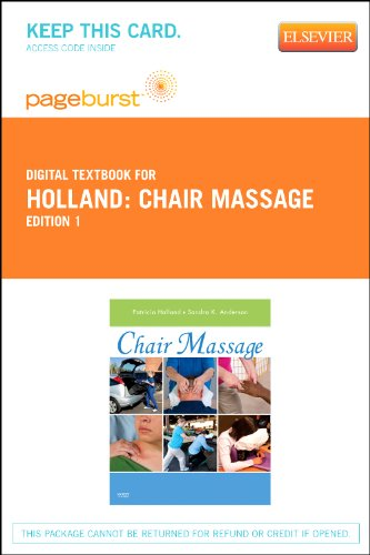 9780323092234: Chair Massage - Elsevier eBook on VitalSource (Retail Access Card), 1e