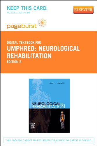 9780323092654: Neurological Rehabilitation: Pageburst Retail