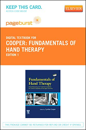 9780323092715: Fundamentals of Hand Therapy - Elsevier eBook on VitalSource (Retail Access Card): Clinical Reasoning and Treatment Guidelines for Common Diagnoses of the Upper Extremity, 1e