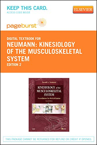 9780323092944: Kinesiology of the Musculoskeletal System - Elsevier eBook on VitalSource (Retail Access Card): Foundations for Rehabilitation, 2e