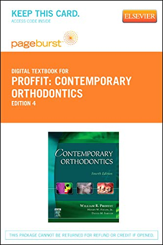 9780323093002: Contemporary Orthodontics - Elsevier eBook on VitalSource (Retail Access Card), 4e