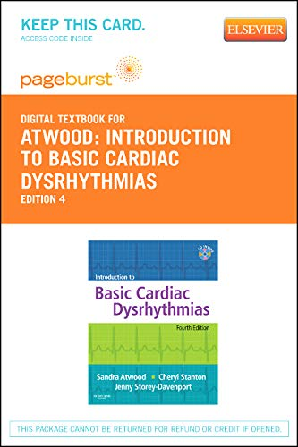 9780323093835: Introduction to Basic Cardiac Dysrhythmias - Pageburst E-Book on VitalSource (Retail Access Card), 4e