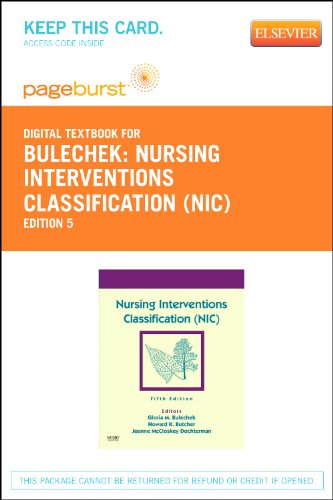 9780323094009: Nursing Interventions Classification (NIC) - Elsevier eBook on VitalSource (Retail Access Card)