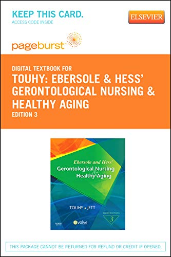 9780323094429: Ebersole & Hess' Gerontological Nursing & Healthy Aging - Elsevier eBook on VitalSource (Retail Access Card), 3e