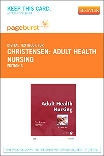 9780323094511: Adult Health Nursing - Elsevier eBook on VitalSource (Retail Access Card), 6e