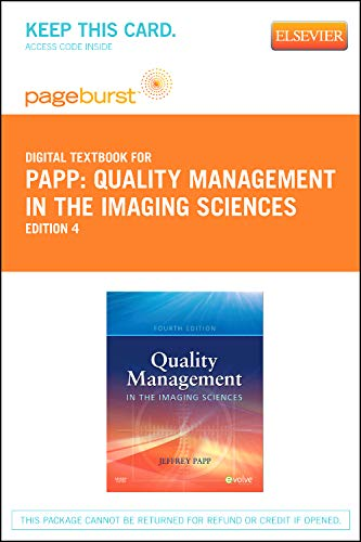 Quality Management in the Imaging Sciences -: Papp PhD RT(R)