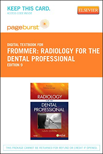 9780323094719: Radiology for the Dental Professional - Elsevier eBook on VitalSource (Retail Access Card), 9e