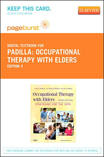 9780323094771: Occupational Therapy with Elders - Elsevier eBook on VitalSource (Retail Access Card): Strategies for the Occupational Therapy Assistant, 3e