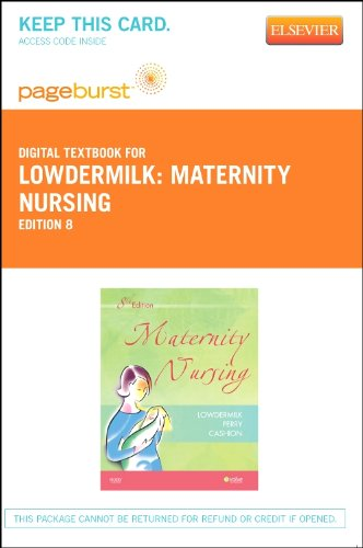 9780323094962: Maternity Nursing - Elsevier eBook on VitalSource (Retail Access Card), 8e