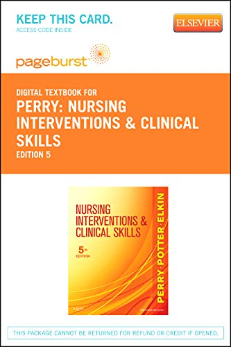 9780323095228: Nursing Interventions & Clinical Skills - Elsevier eBook on VitalSource (Retail Access Card), 5e