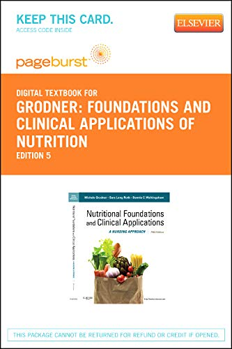 9780323095587: Nutritional Foundations and Clinical Applications - Elsevier eBook on VitalSource (Retail Access Card): A Nursing Approach